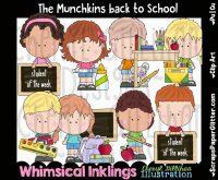 Munchkins Back To School Clip Art